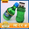 Simulated plastic bottle usb flash drive