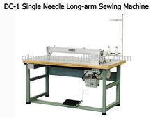 Cb-1 longa- braço de rótulo utilizado tecido de máquina de costura