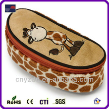 Giraffe Pencil Case Plush Animal Pencil bag