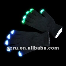Factory Wholesale Evening Party Lighted Gloves