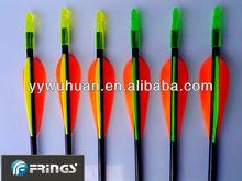 Fiberglass arrows practice, training