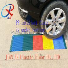 basketball court PP interlock flooring