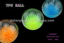Swimming fish bouncing ball flashing ball