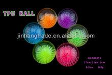Flash bouncing ball water bouncing ball figure, glitter and distilled water inside