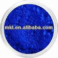 Pigment bleu, l'eau de revêtement