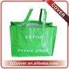 grass-green guangzhou canvas grocery bag