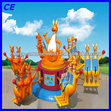 Attractive new style happy kangaroo jumping ride