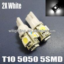 T10-5050-5SMD LED car light show wide license light -WL