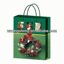 2014 HOT!! fashion paper Gift shopping Bags for brown paper grocery bag
