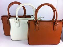 elegant genuine leather tote bag
