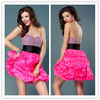 OD-527 Strapless hand beaded top fun and flirty skirt sexy arabic party dress for young ladies