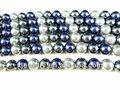 perle coquille et perles de verre fabriqués sur mesure et vente en gros 4mm mixte couleur nacre perles en vrac ou en verre perle ronde brins