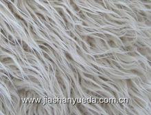 long pile faux fur for fashion garments