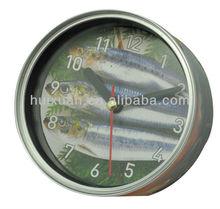 Wholesale Creative Can shaped Quartz Clock Promotional Gifts digital tin clock customized table/wall clock