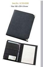 promotional 2 pocket portfolio