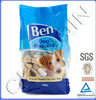Dog treats plastic bags for food packing