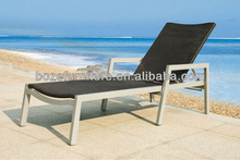 UV resistant Rattan outdoor furniture chaise lounge sun lounger/swimming pool chair BZ-C008