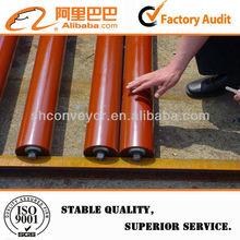 Stainless steel carrying conveyor roller bracket for material handling equipment