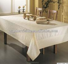 OEM good quality fancy stretch table cloth