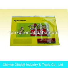 PVC Document A4 Zipper Bag