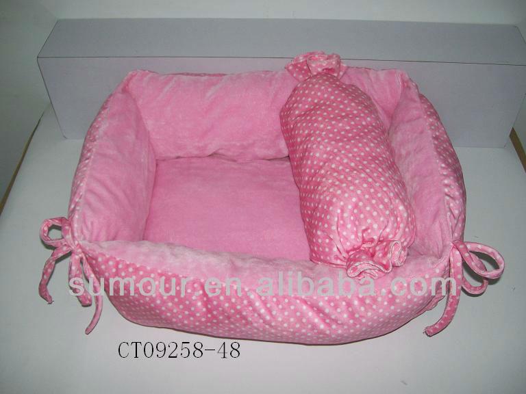 A series of stuffed Soft Plush dog kennel