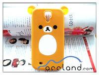Rilakkuma Bear Cute Silicone Case for Galaxy S4 Samsung i9500