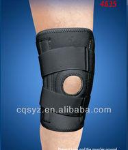Neoprene open type adjustable knee support brace