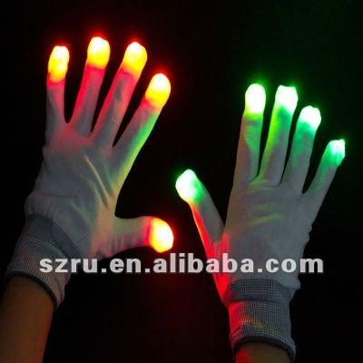 Promotional Fashion Led Light Up Gloves