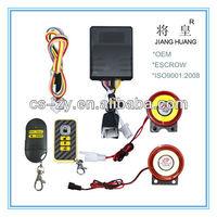 human voice beret motorcycle alarm/remote alarm system motorcycle