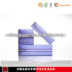 paper cosmetic packaging,2013 new design cosmetic box
