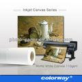 de inyección de tinta 150 gsm lienzo de vela material de impresión para la impresora de gran formato