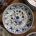 orientali antichi ming dinastia handmaded ceramica piattiinporcellana per decorative e display