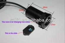 Slides changeable Led car logo ghost laser light,2013 most popular Cree Chip Car Logo Projector Courtesy Light