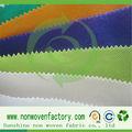 Sol pp spunbond tecido não tecido, nome de indústrias têxteis