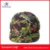 blank flat bill The parrot digital printing snapback hats / cap/ 5 panel cap