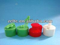 plastic soap flip top cap dispenser for lotion bottles