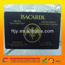 Silk-screen blck metal vip cards matt black metallic vip card