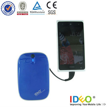 5500mah with bulid-in cables power bank for lenovo k900