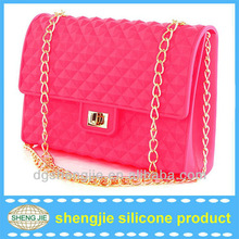 2014 jelly candy woman silicone bags like channel bags