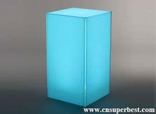 colorful acrylic led cube light