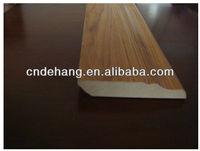 Laminate MDF floor skirting baseboard