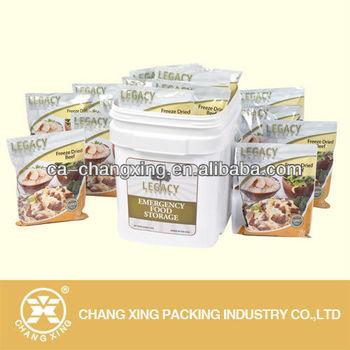 frozen food pouch bag frozen meat bag for frozen dried beef