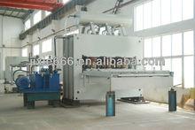 JIN LUN short-cycle lamination hotpress/mdf lamination press machine
