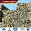 decorative gabion wall, Gabion basket retaining wall design (Factory supplier)