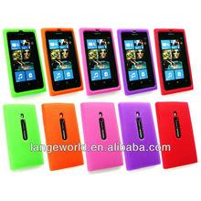 for silicon nokia lumia 800 back cover