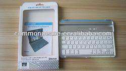 Aluminum Alloy Wireless Bluetooth Keyboard for Apple ipad 2 3 4 / Bluetooth Slot keyboard