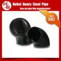 cotovelo de aço carbono acessórios para tubos de peso