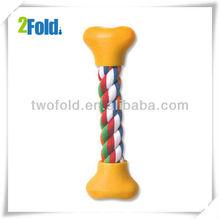 Cotten Rope Knot Bone Shape Pet Snack