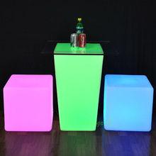 SZ-G3040-D39 LED Lounge Table