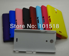 Newest Rubber Hard Case Cover for Sony Xperia L S36h
